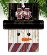 Mississippi State Bulldogs Snowman Ornament