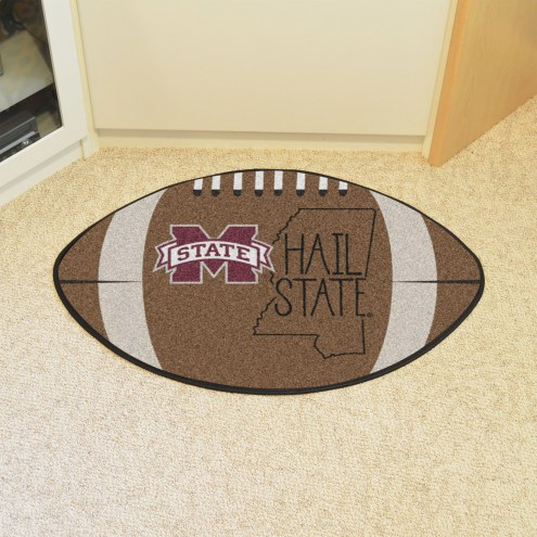 Mississippi State Bulldogs Southern Style Football Floor Mat