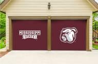 Mississippi State Bulldogs Split Garage Door Banner