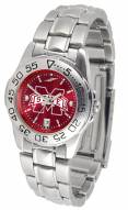 Mississippi State Bulldogs Sport Steel AnoChrome Women's Watch