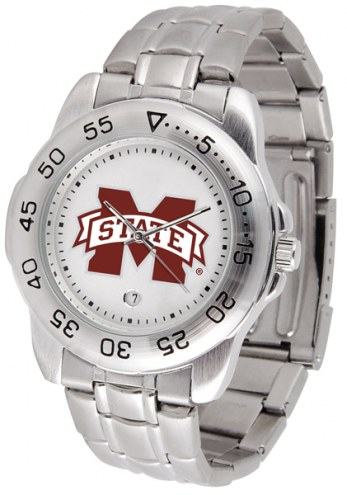 Mississippi State Bulldogs Sport Steel Men's Watch