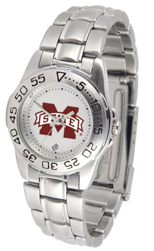 Mississippi State Bulldogs Sport Steel Women's Watch