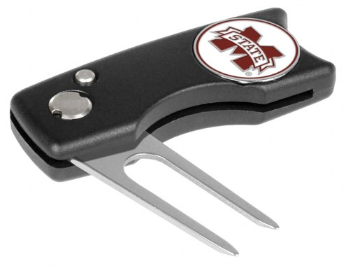 Mississippi State Bulldogs Spring Action Golf Divot Tool