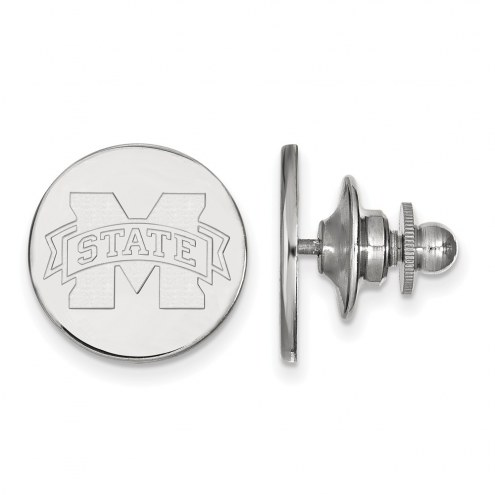 Mississippi State Bulldogs Sterling Silver Lapel Pin