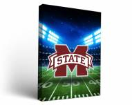 Mississippi State Bulldogs Stadium Canvas Wall Art