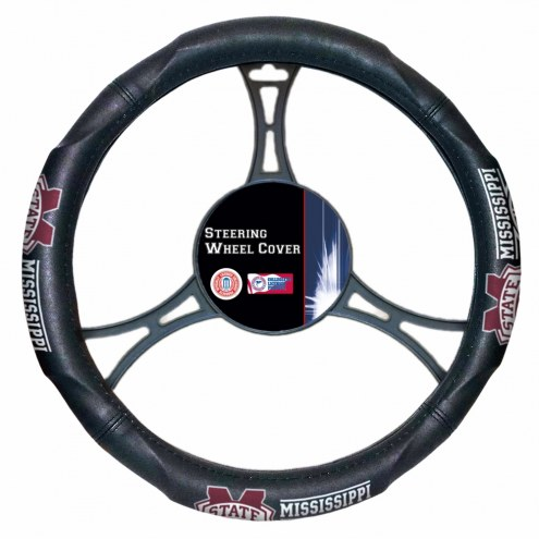 Mississippi State Bulldogs Steering Wheel Cover