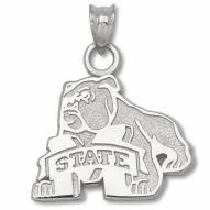 Mississippi State Bulldogs Sterling Silver Pendant