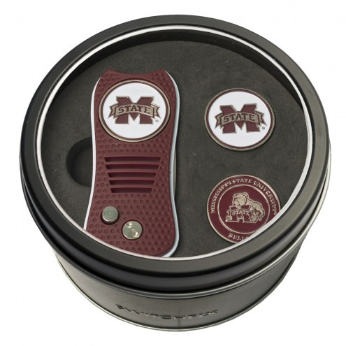 Mississippi State Bulldogs Switchfix Golf Divot Tool & Ball Markers