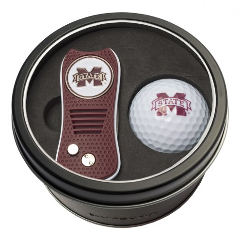 Mississippi State Bulldogs Switchfix Golf Divot Tool & Ball