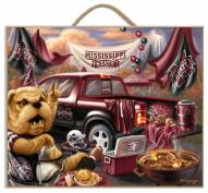 Mississippi State Bulldogs Tailgate Plaque