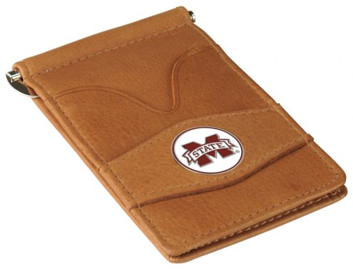 Mississippi State Bulldogs Tan Player's Wallet