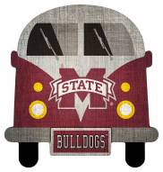 Mississippi State Bulldogs Team Bus Sign