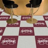 Mississippi State Bulldogs Team Carpet Tiles