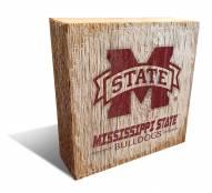 Mississippi State Bulldogs Team Logo Block