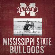 """Mississippi State Bulldogs Team Name 10"""" x 10"""" Picture Frame"""