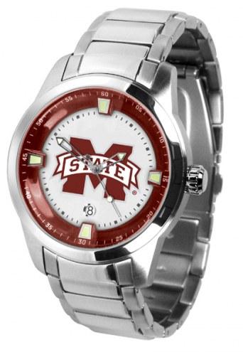 Mississippi State Bulldogs Titan Steel Men's Watch