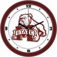 Mississippi State Bulldogs Traditional Wall Clock