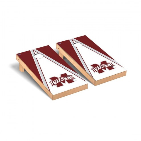 Mississippi State Bulldogs Triangle Cornhole Game Set