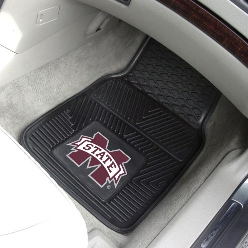 Mississippi State Bulldogs Vinyl 2-Piece Car Floor Mats