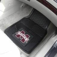 Mississippi State Bulldogs Vinyl 2-Piece Car Floor Mats