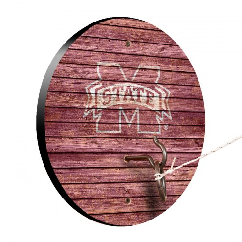 Mississippi State Bulldogs Weathered Design Hook & Ring Game