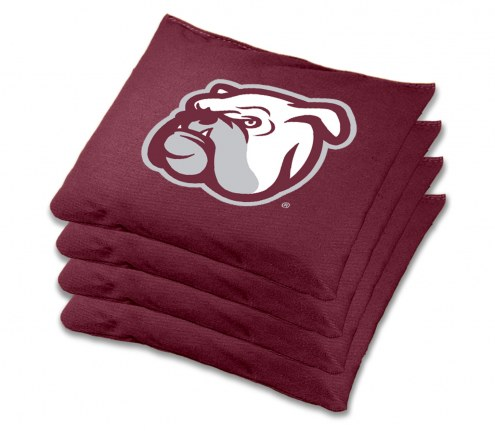 Mississippi State Bulldogs Cornhole Bags - Set of 4