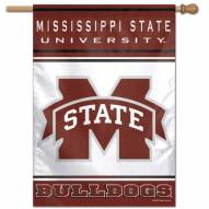 """Mississippi State Bulldogs 28"""" x 40"""" Banner"""