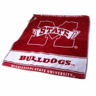 Mississippi State Bulldogs Woven Golf Towel