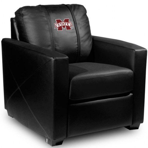 Mississippi State Bulldogs XZipit Silver Club Chair