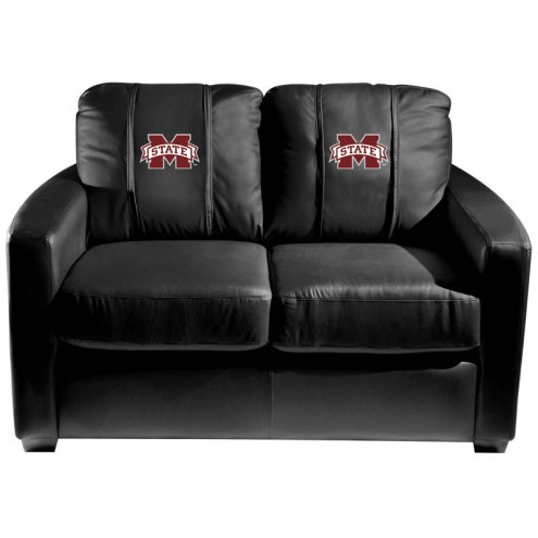Mississippi State Bulldogs XZipit Silver Loveseat
