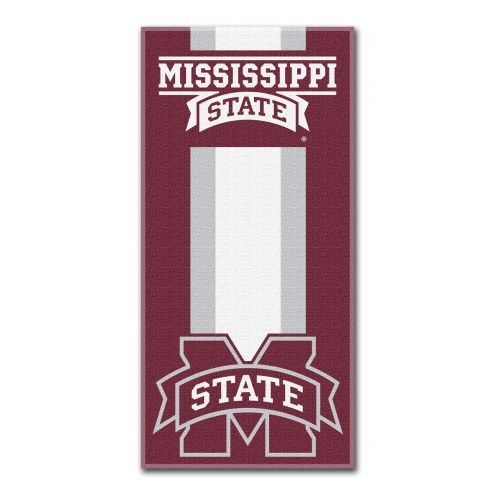 Mississippi State Bulldogs Zone Read Beach Towel