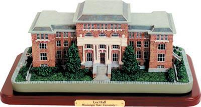 Mississippi State Lee Hall Building Figurine
