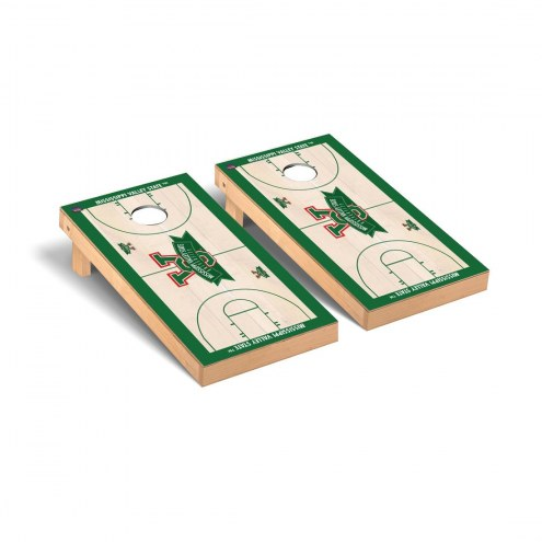 Mississippi Valley State Delta Devils Basketball Court Cornhole Game Set