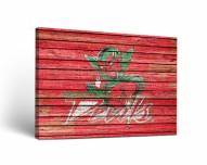 Mississippi Valley State Delta Devils Weathered Canvas Wall Art