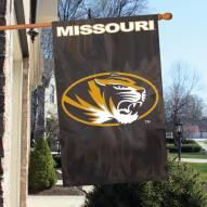 Missouri Mizzou Tigers NCAA Embroidered / Applique College Flag Banner
