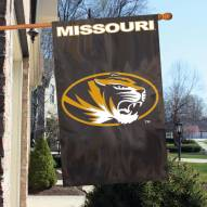 Missouri Mizzou Tigers NCAA Embroidered / Applique College Flag Banner