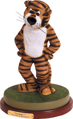 Missouri Mizzou Tigers Collectible Mascot Figurine
