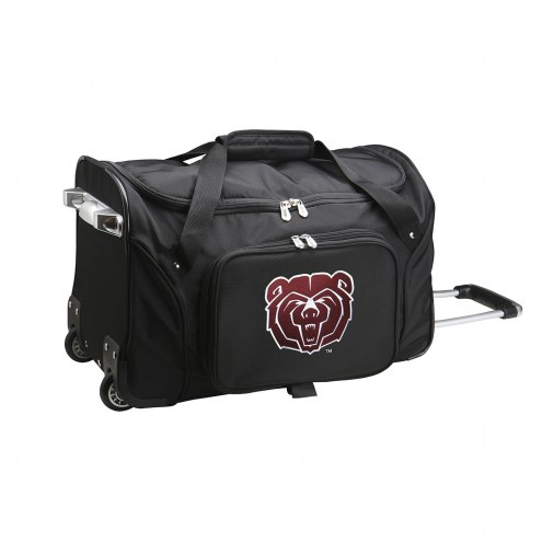 "Missouri State Bears 22"" Rolling Duffle Bag"