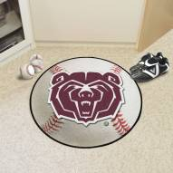 Missouri State Bears Baseball Rug