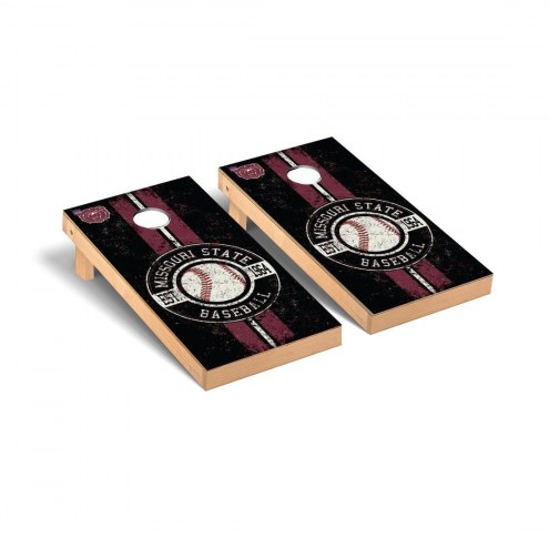 Missouri State Bears Baseball Vintage Cornhole Game Set