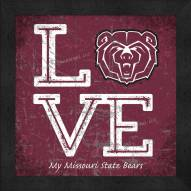 Missouri State Bears Love My Team Color Wall Decor
