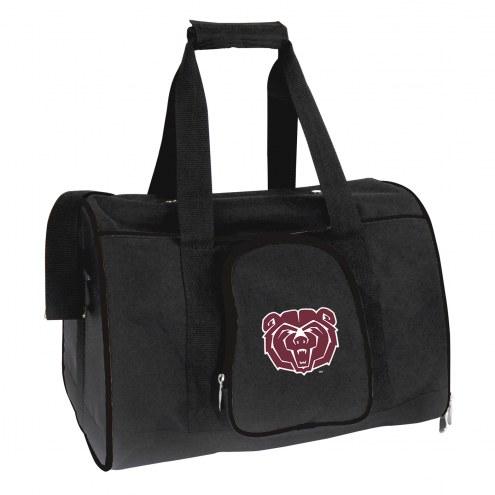 Missouri State Bears Premium Pet Carrier Bag