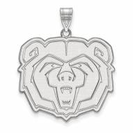 Missouri State Bears Sterling Silver Extra Large Pendant