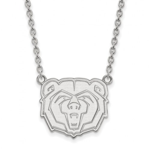 Missouri State Bears Sterling Silver Large Pendant Necklace
