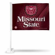 Missouri State Bears College Car Flag