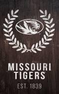 "Missouri Tigers 11"" x 19"" Laurel Wreath Sign"