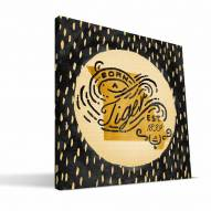 "Missouri Tigers 12"" x 12"" Born a Fan Canvas Print"