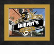 Missouri Tigers 13 x 16 Personalized Framed Sports Pub Print