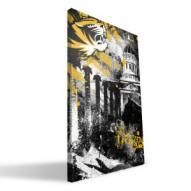 "Missouri Tigers 16"" x 24"" Spirit Canvas Print"