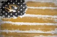 """Missouri Tigers 17"""" x 26"""" Flag Sign"""